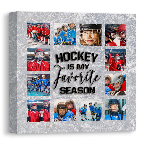 Hockey Season Canvas