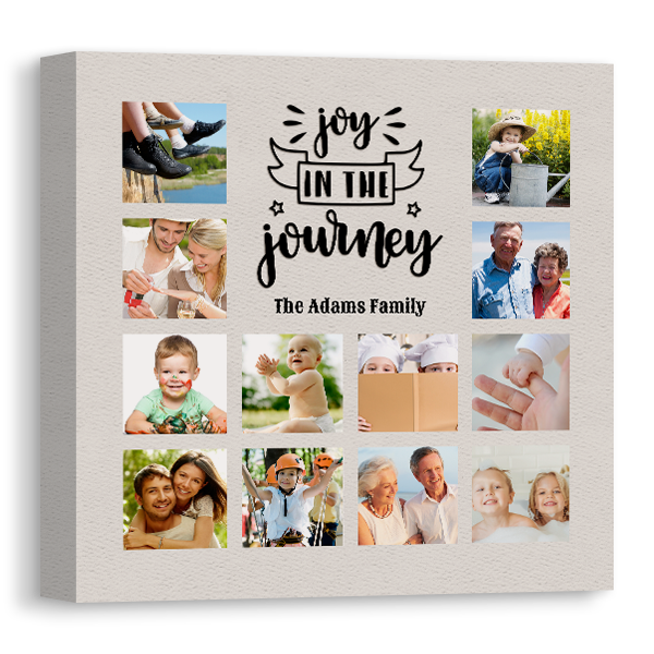 Joy In the Journey Canvas Canvas