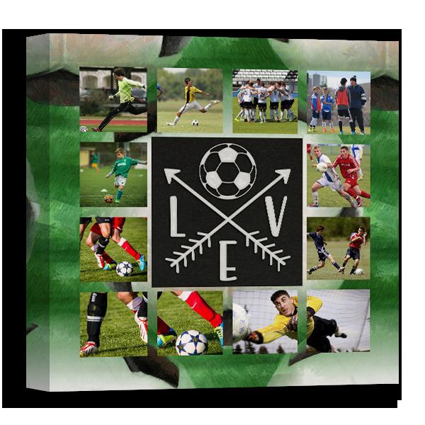 Soccer Love Canvas Canvas