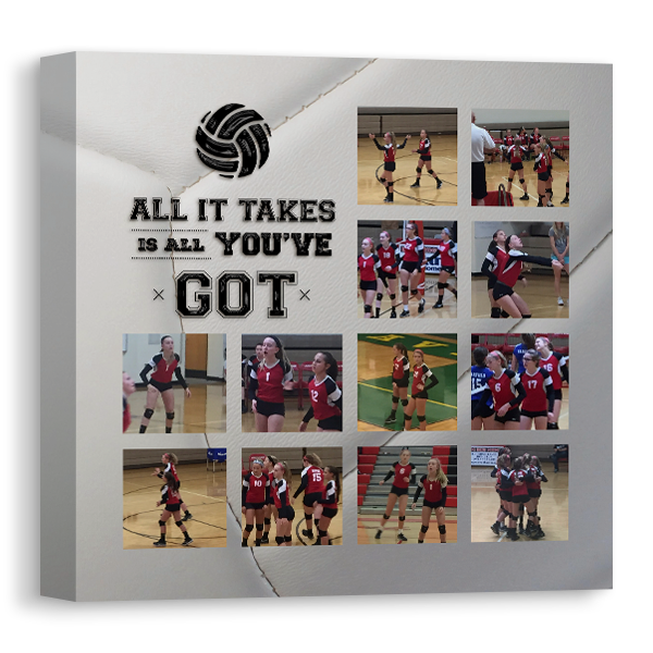 Volleyball Canvas Canvas