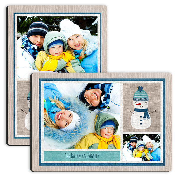 Snowman Holiday Tabletop Tabletop Panel