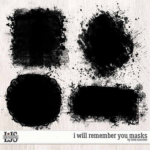 I Will Remember You Masks