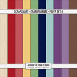 ScrapSmart - Grandparents - Paper Set 4