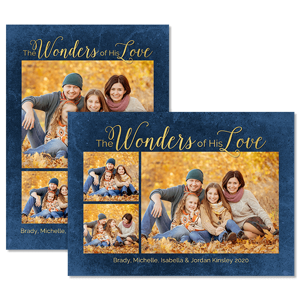 Wonders of His Love Card Card