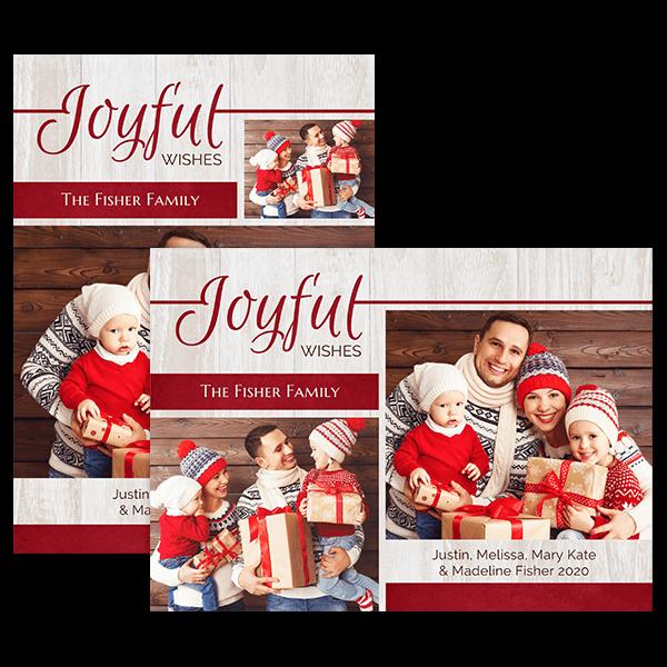 Joyful Wishes Card Card