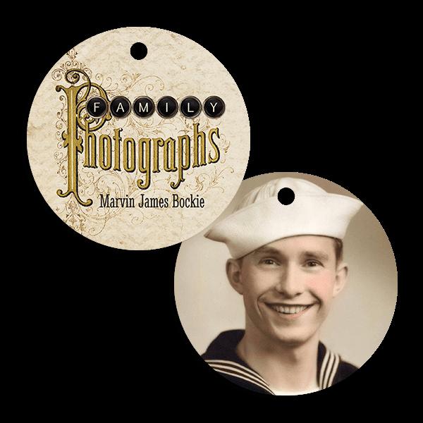 Vintage Photographs Ornament