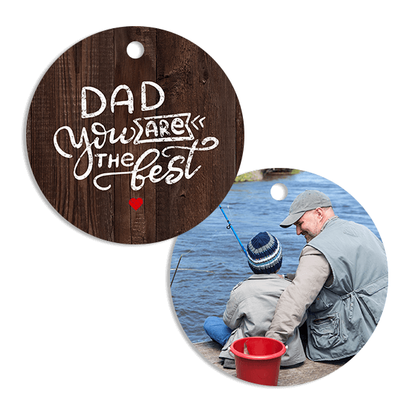 Best Dad Ornament