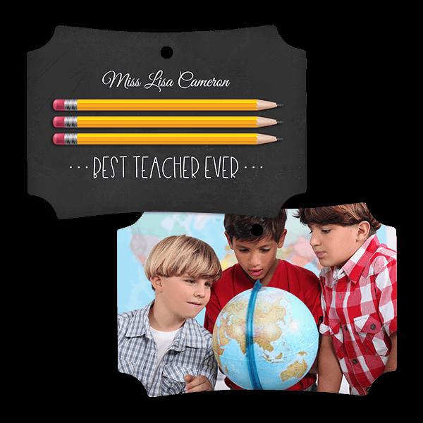 Best Teacher Ever Ornament