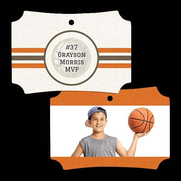 Basketball Stripes Ornament