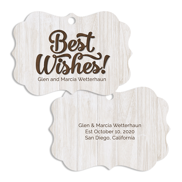 Best Wishes Ornament Ornament
