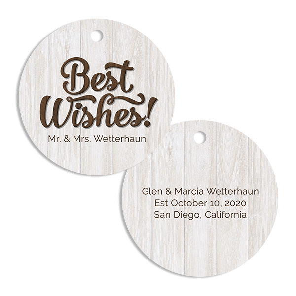 Best Wishes Ornament
