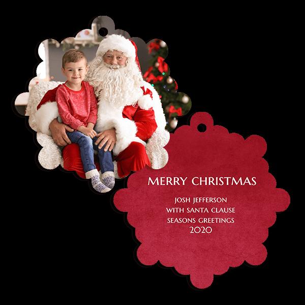 Big Red Ornament