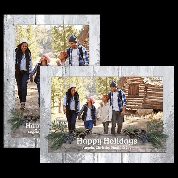 Woodland Holiday Card Card