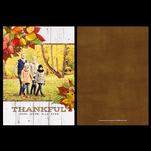 Simply Thankful Card