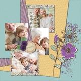 ScrapSmart - Grandparents - Embellishments