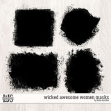 Wicked Awesome Women Masks