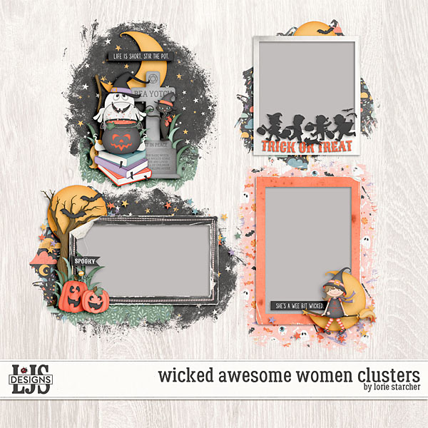 Wicked Awesome Women Clusters