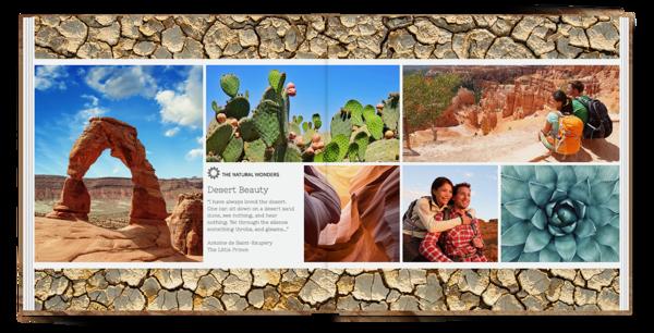 Desert Life Seamless Layflat