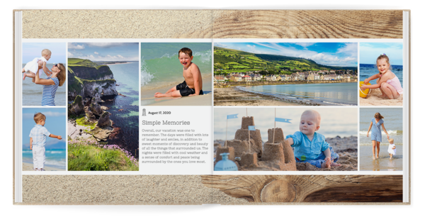 Beach Life Seamless Layflat