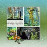 Aquarium Visit Pre-Designed Book 12x12