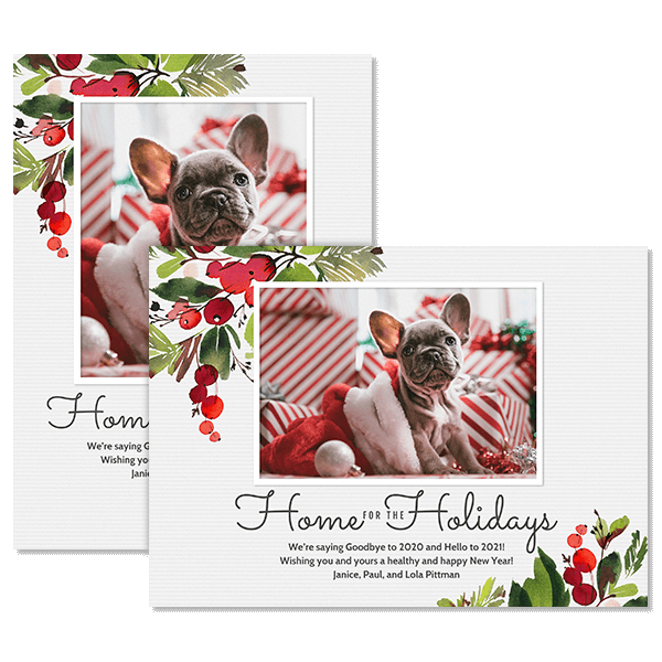 Home for the Holidays Card Card