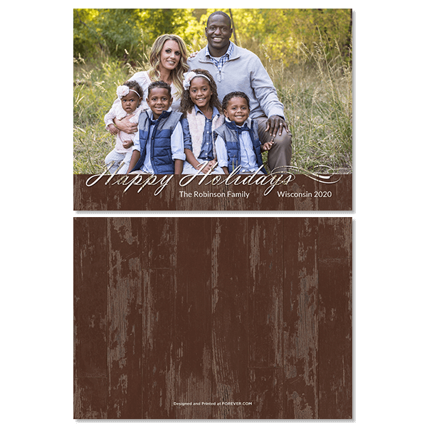 Country Holiday Card