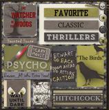 Halloween Horror Journal Cards