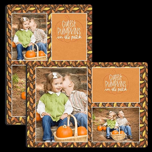 Cutest Pumpkins Tabletop Tabletop Panel