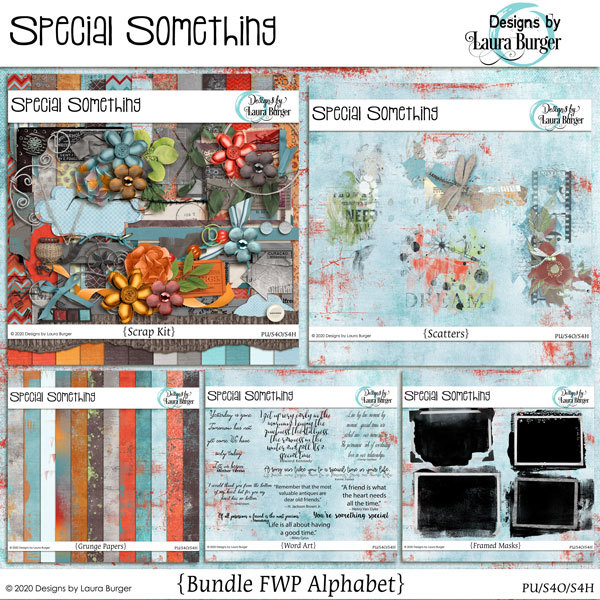 Special Something Bundle FWP Set of Alphabets