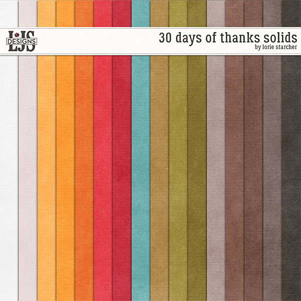 30 Days Of Thanks Solids