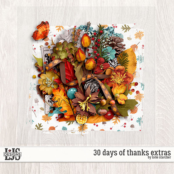 30 Days Of Thanks Extras