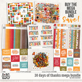 30 Days Of Thanks Mega Bundle