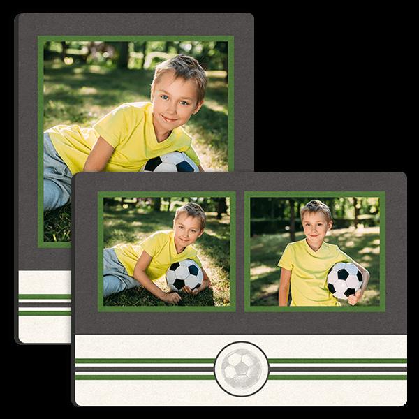 Soccer Stripes Tabletop Tabletop Panel