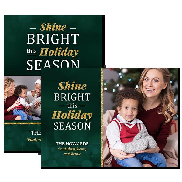Shine Bright Card Card