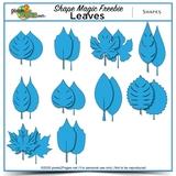 Shape Magic Freebie - Leaves