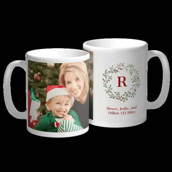 Holiday Monogram Mug Mug