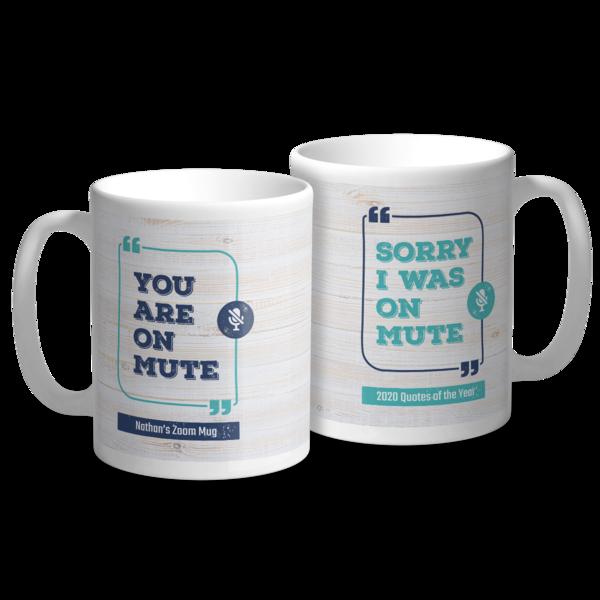 On Mute Mug Mug