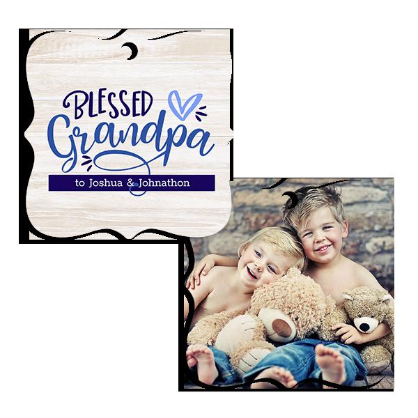 Blessed Grandpa Ornament