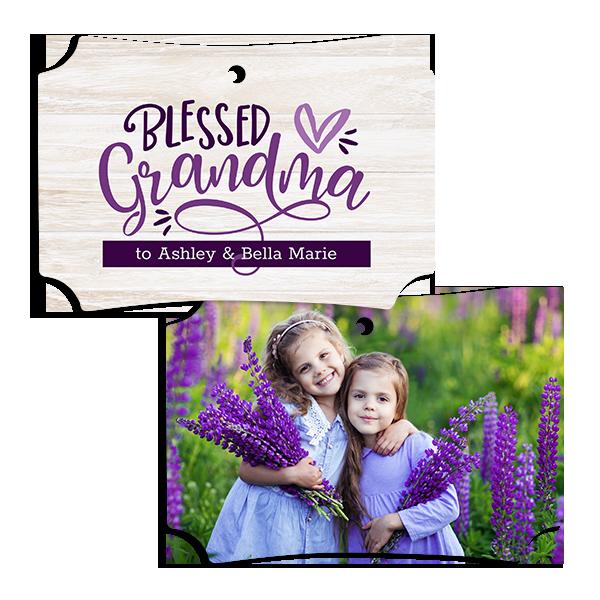 Blessed Grandma Ornament