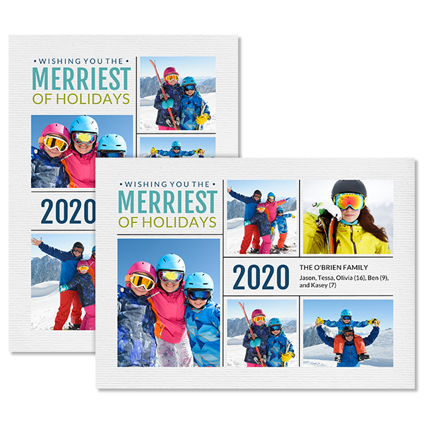 Merriest of Holidays 2020 Card