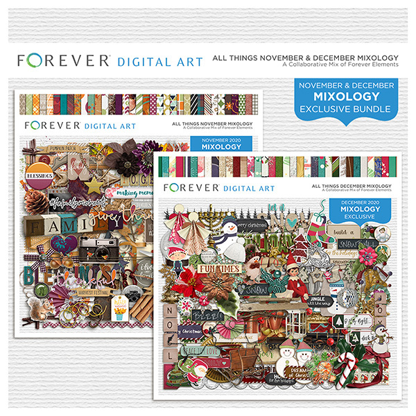 All Things November & December Mixology Bundle