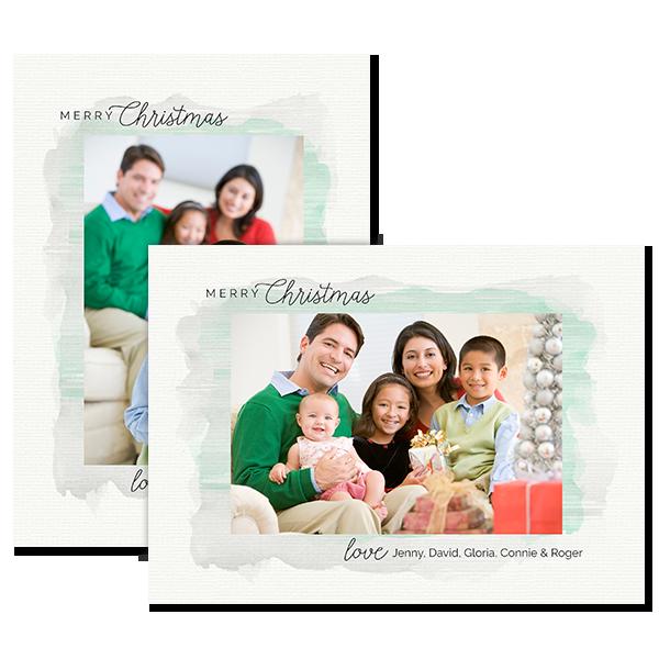Peaceful Christmas Card Card