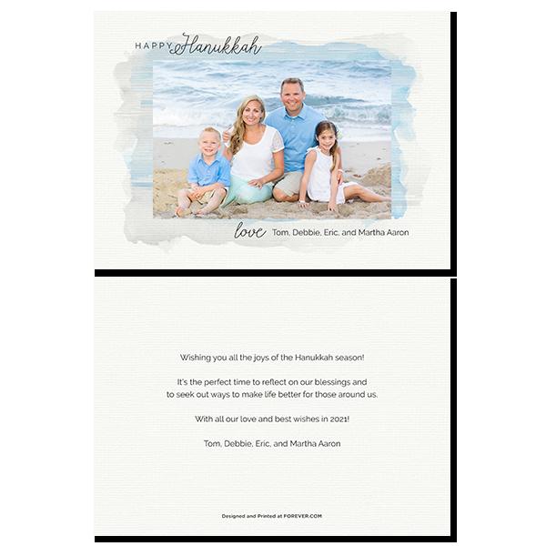 Peaceful Hanukkah Card