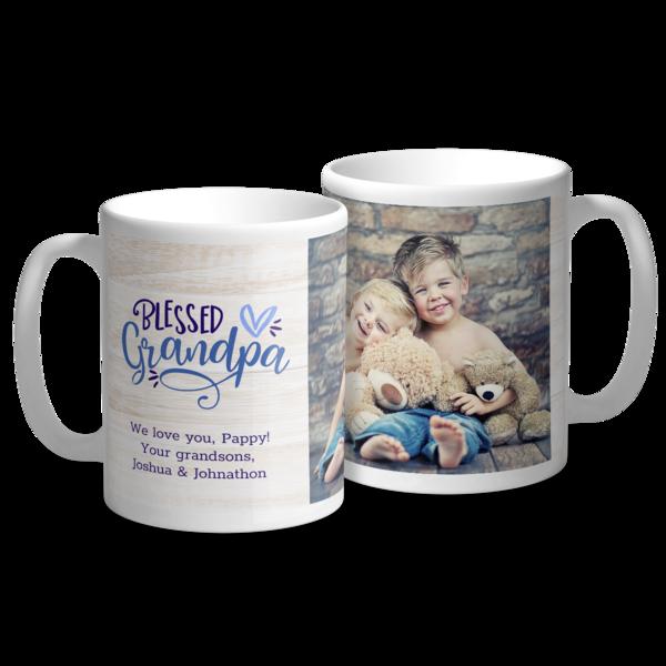 Blessed Grandpa Mug Mug