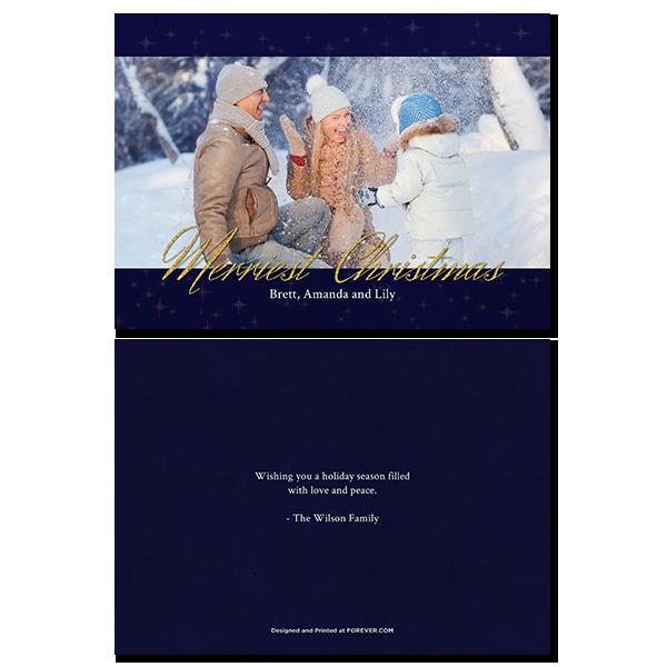 Merriest Christmas Card