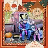 Happy Hayride Journal Cards