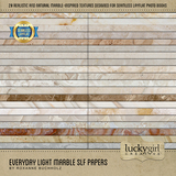 Everyday Light Marble SLF Papers
