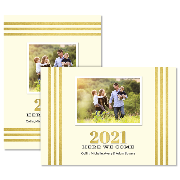 The Year 2021 Card