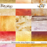 Blessing Watercolor Papers Set 2