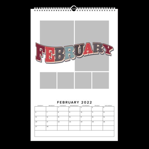 Monthly Memories Calendar
